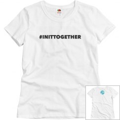 In it together tee bold