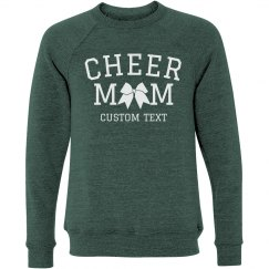 Custom Cheer Mom Slouchy Sweater