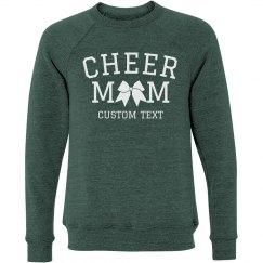 Custom Cheer Mom Slouchy Sweater