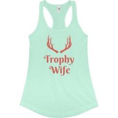 Mint Trophy Wife Tank