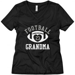 Football Grandma Bling