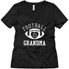 Football Grandma Bling