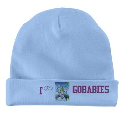 GOBABIES INFANT RABBIT SKIN HAT