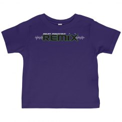 Basic Purple Toddler Tee