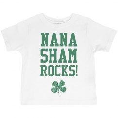 St Patricks Day Kid Loves Nana