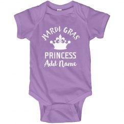 Custom Mardi Gras Baby Princess