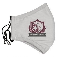 Custom Mascot Soccer Shield Mask
