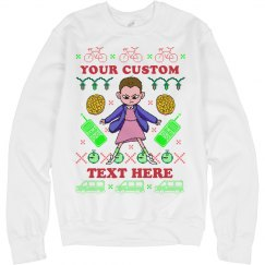 Custom Stranger Ugly Xmas Sweater
