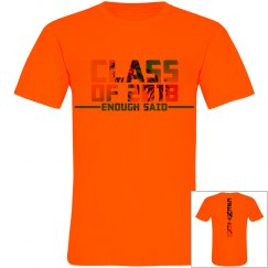 CLASS OF 2018 SENIOR SHIRT NEON UNISEX
