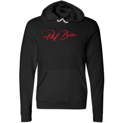 Red Bottoms Hoody-Red Lettering