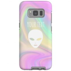 Custom Holographic Print Galaxy Case
