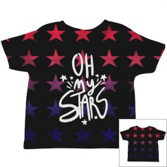 Cute Oh My Stars All Over Print