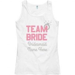 Customizable Team Bride Design