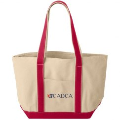 CADCA Red Canvas Tote