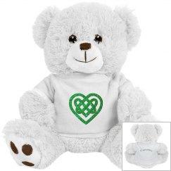 Personalized Celtic Heart Teddy