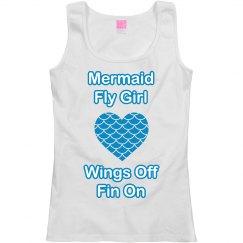Mermaid Fly Girl
