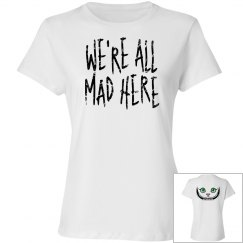 Cheshire Cat Women's Tshirt