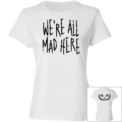 Cheshire Cat Women's Tshirt