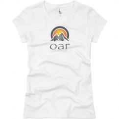Woman's classic OAR logo