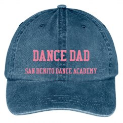 Dance Dad baseball cap style hat