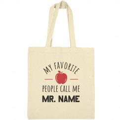 Favorite People Custom Teachers Gift