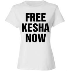 Free Kesha Now T-Shirts