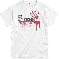 Walking dead bloody hand