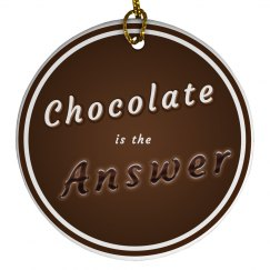 Chocolate is the Answer