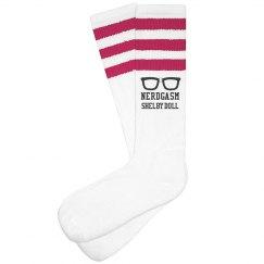 nerdgasm sock