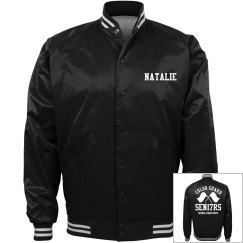 Personalized Color Guard Seniors 2017 Bomber Jackets