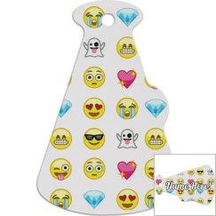 Emoji Cheer Backpack Tag