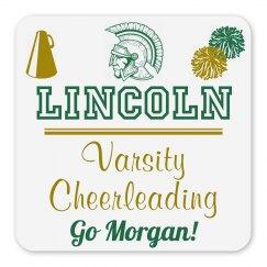 Lincoln Varsity Cheerleading Magnet_Item30C-4
