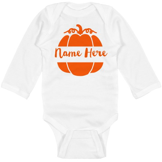 bdfbad0a6 Custom Halloween Bodysuit Infant Long Sleeve Baby Rib Bodysuit