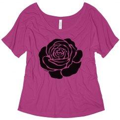 Cool Black Rose