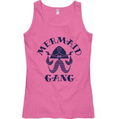 Mermaid Gang Sailors Beware Tank