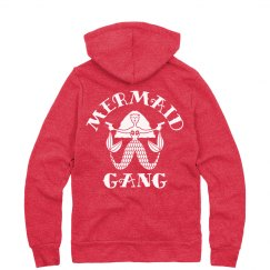 Mermaid Gang Stay Warm Hoodie