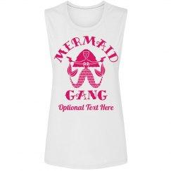 Custom Mermaid Gang Trendy Tanks