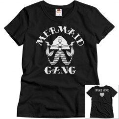 Custom Mermaid Gang Best Friends