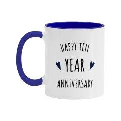 Happy 10 Year Wedding Anniversary