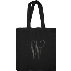 Custom Monogram Black On Black