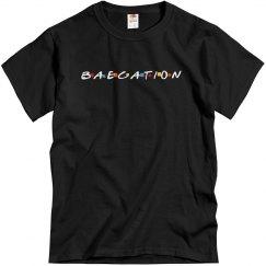Black Color Mens Baecation