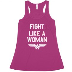 Fight Like A Woman Flowy Tank