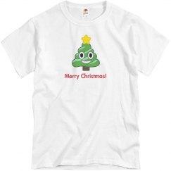 Christmas Poop Tree white