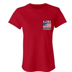 LADIES RELAXED BASIC T-SHIRT
