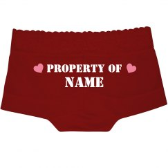 Property Of His Name Here