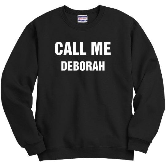 DEBORAH ANNOINTING