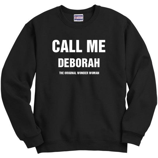 DEBORAH THE ORIGINAL WONDER WOMAN