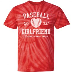 Baseball Girlfriend Heart