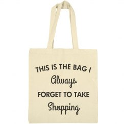 The Bag I Always Forget To Use