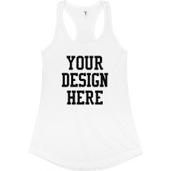 Customizable Racerback Tank Top